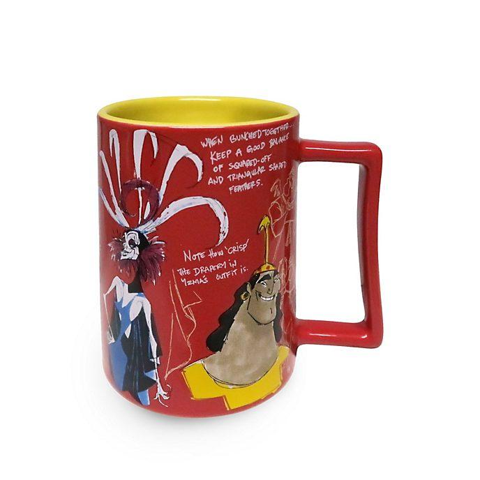 Disney Store The Emperor's New Groove 20th Anniversary Mug