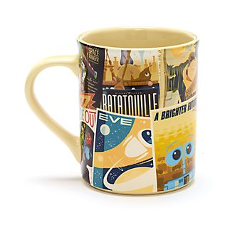 Disney Store Mug Patchwork d'affiches Disney Pixar