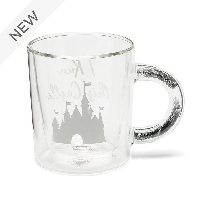 Walt Disney World Fantasyland Castle Glass Mug