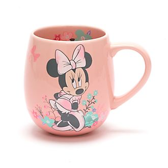 Taza rosa Minnie Mouse, Disney Store