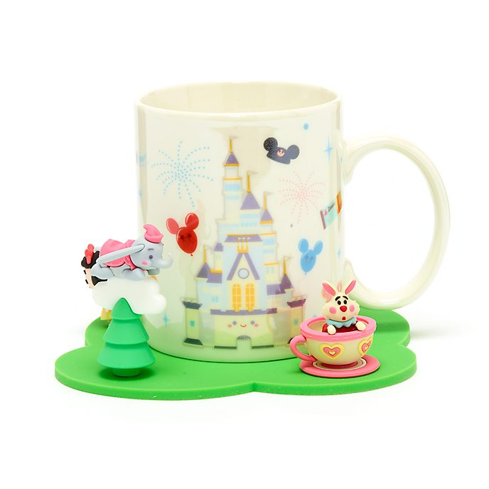 Walt Disney World Mug and Coaster Set by Jerrod Maruyama