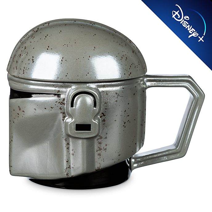 Walt Disney World The Mandalorian Helmet Mug with Lid