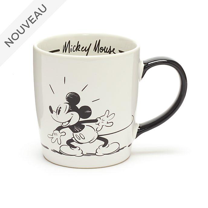 Disney Store Mug Mickey Mouse Signature