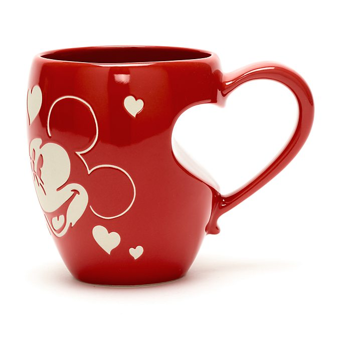 Disney Store Mickey and Minnie Mouse Love Mug