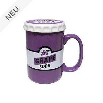 Disney Store - Oben - Becher mit Deckel und Grape Soda Motiv