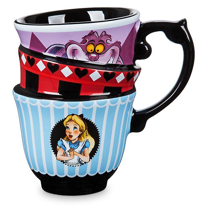 Disney Store Alice in Wonderland Stacked Mug
