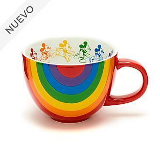 Taza arcoíris Mickey Mouse, Disney Store
