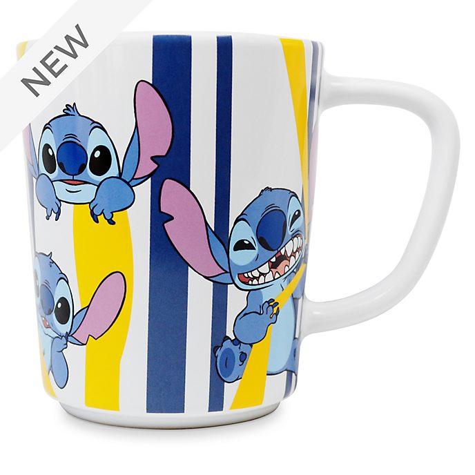 Disney Store Stitch Stripe Mug
