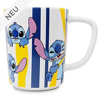 Disney Store - Stitch - Becher mit Streifen