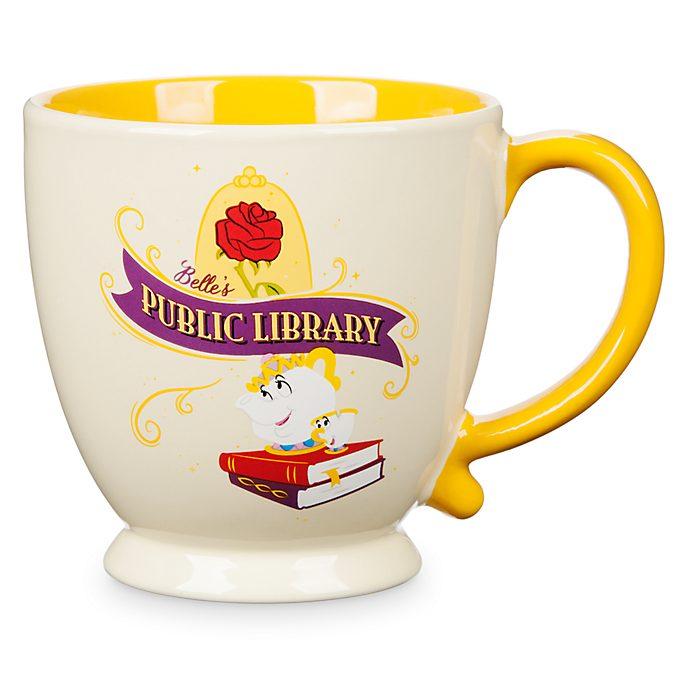 Taza Public Library Bella, La Bella y la Bestia, Disney Store