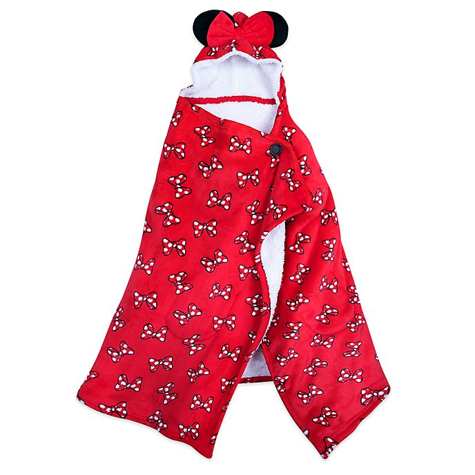 Manta polar con capucha Minnie Mouse, Disney Store