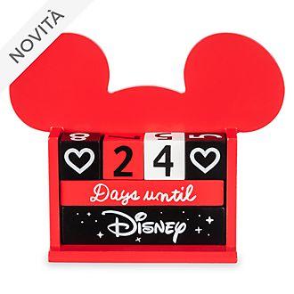 Calendario conto alla rovescia Topolino Disney Store