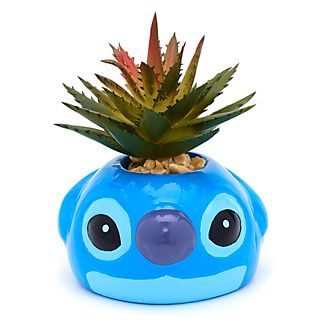 Macetero con planta artificial Stitch, Disney Store