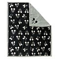 Disney Store Mickey Mouse Greyscale Fleece Throw