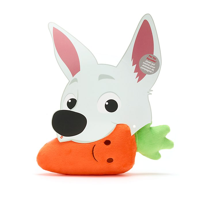 Disney Store Carrot Chew Toy For Dogs, Bolt