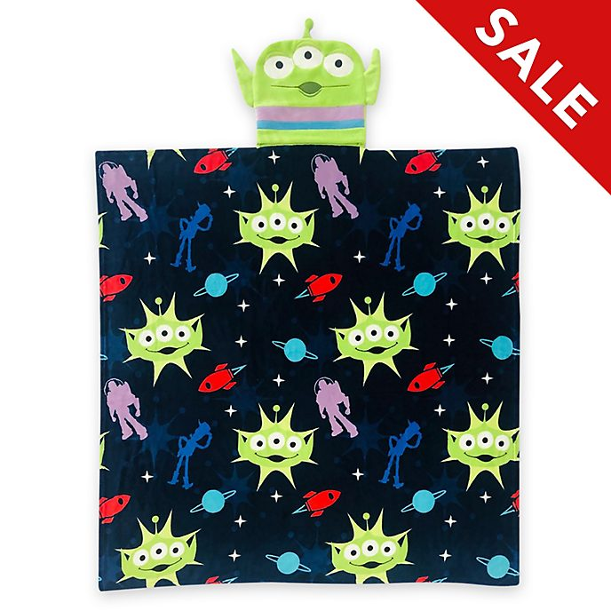 Disney Store Alien Convertible Fleece Throw, Toy Story