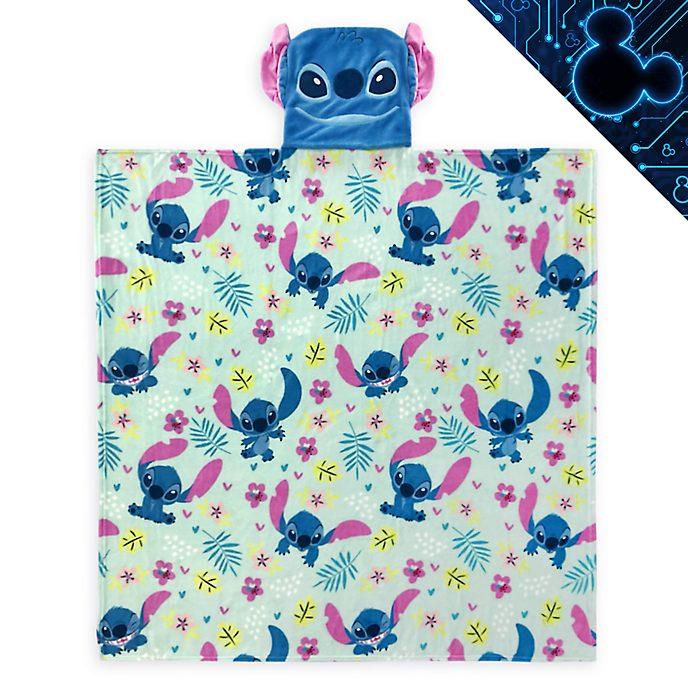 Disney Store Stitch Convertible Fleece Throw