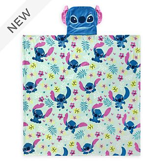 Disney Store Stitch Convertible Fleece Throw