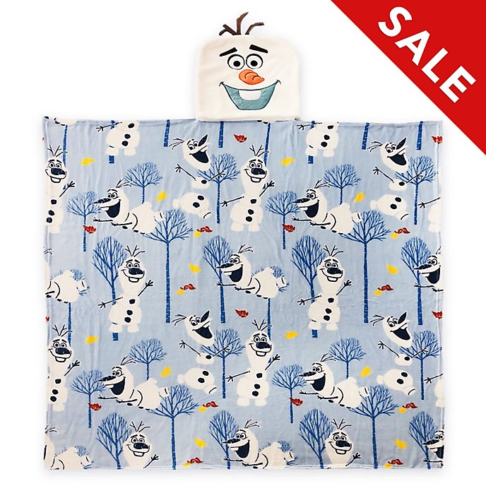 Disney Store Olaf Convertible Fleece Throw, Frozen 2