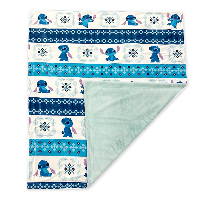 Disney Store Stitch Fleece Throw