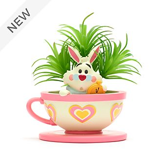 Walt Disney World White Rabbit Artificial Potted Plant