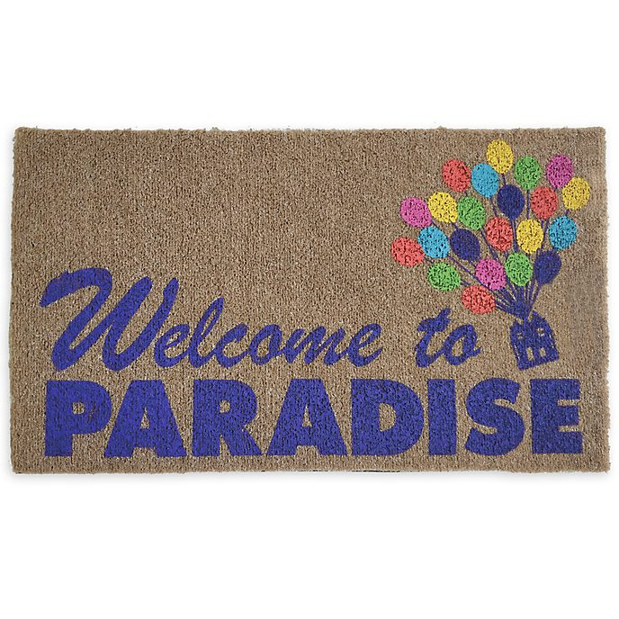 Disney Store Up Door Mat
