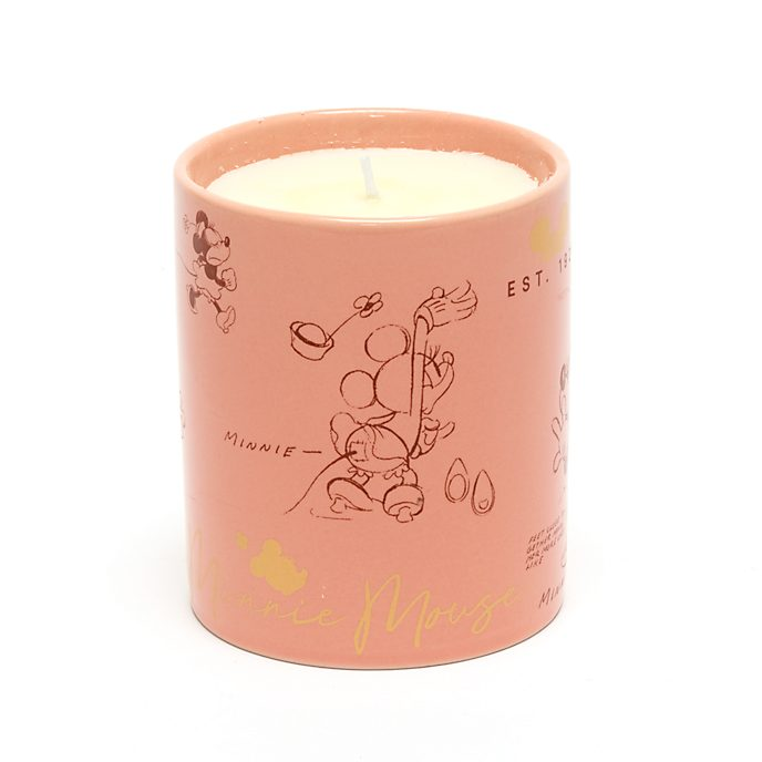 Disney Store Minnie Mouse Sketch Candle