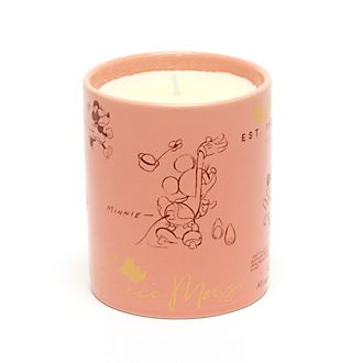 Disney Store - Minnie Maus - Kerze im Skizzenstil