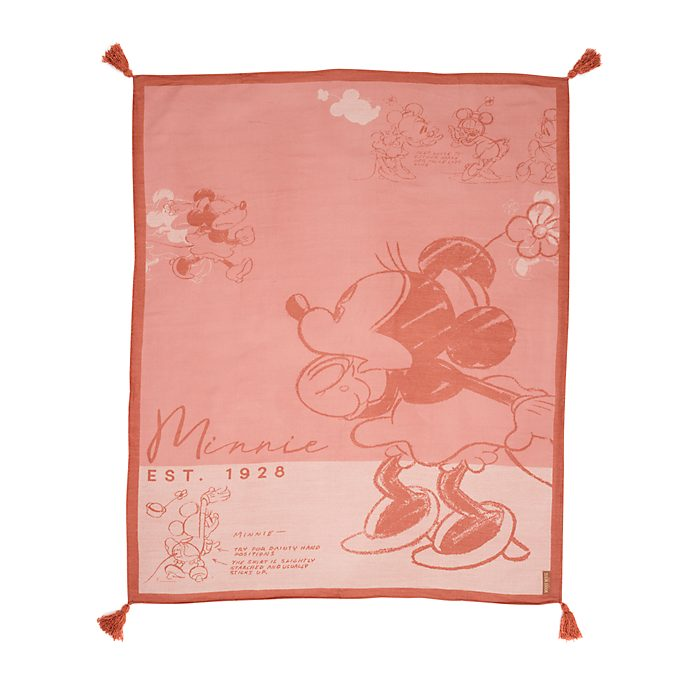 Manta boceto Minnie Mouse, Disney Store