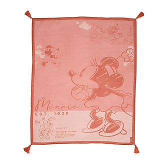 Disney Store Minnie Mouse Sketch Throw
