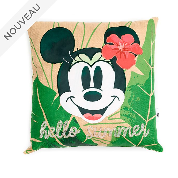 Disneyland Coussin Minnie Tropical Hideaway