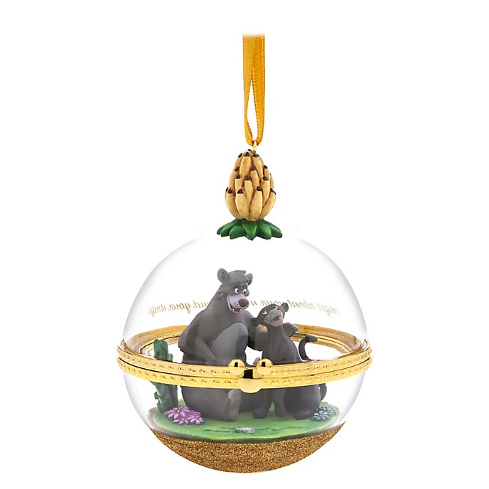 Disney Store Décoration à suspendre Baloo et Bagheera Dynamic Duos, 9sur12