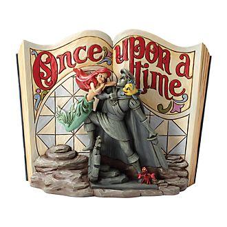 Enesco The Little Mermaid Disney Traditions Storybook Figurine