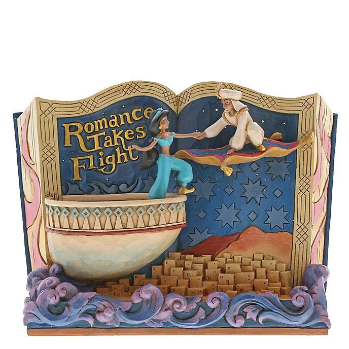Enesco - Disney Traditions - Aladdin - Märchenbuch Figur