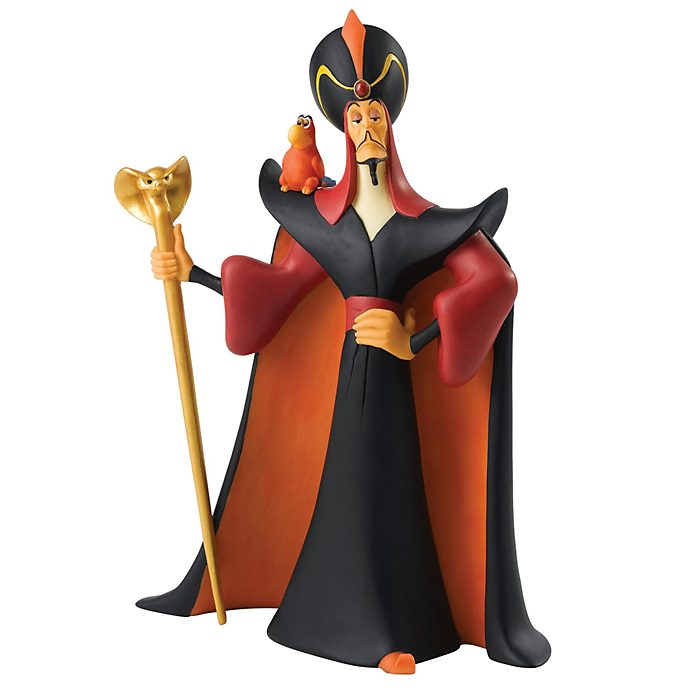 Enesco Jafar and Iago Enchanting Disney Figurine