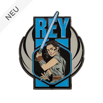 Disney Store - Star Wars: Der Aufstieg Skywalkers - Rey - Anstecknadel in limitierter Edition