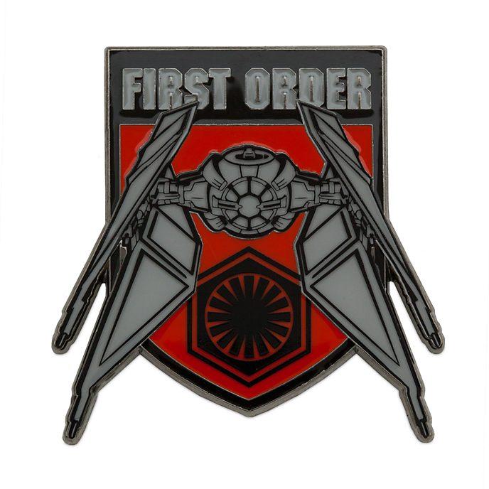 Pin edición limitada caza TIE, Primera Orden, Star Wars: El Ascenso de Skywalker, Disney Store