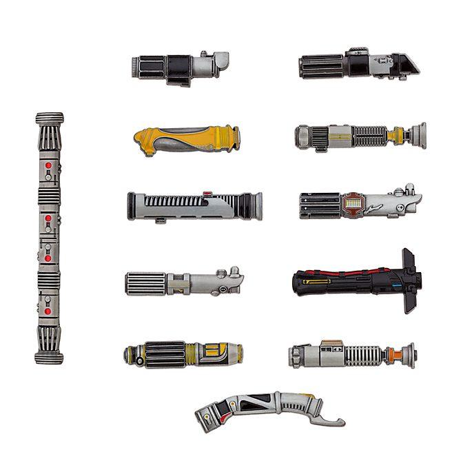 Set de pins edición limitada, Star Wars, Disney Store