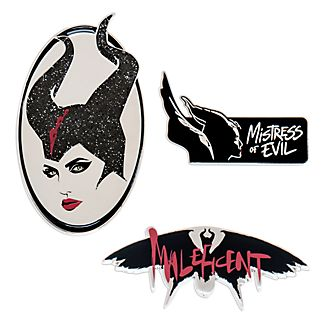 Disney Store Maleficent: Mistress of Evil Limited Edition Pin Set