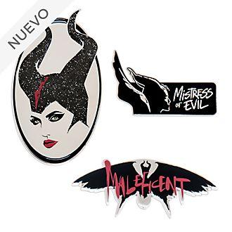 Set pins edición limitada Maléfica: Maestra del Mal, Disney Store