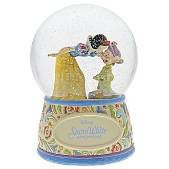 Enesco Snow White and Dopey Disney Traditions Snow Globe