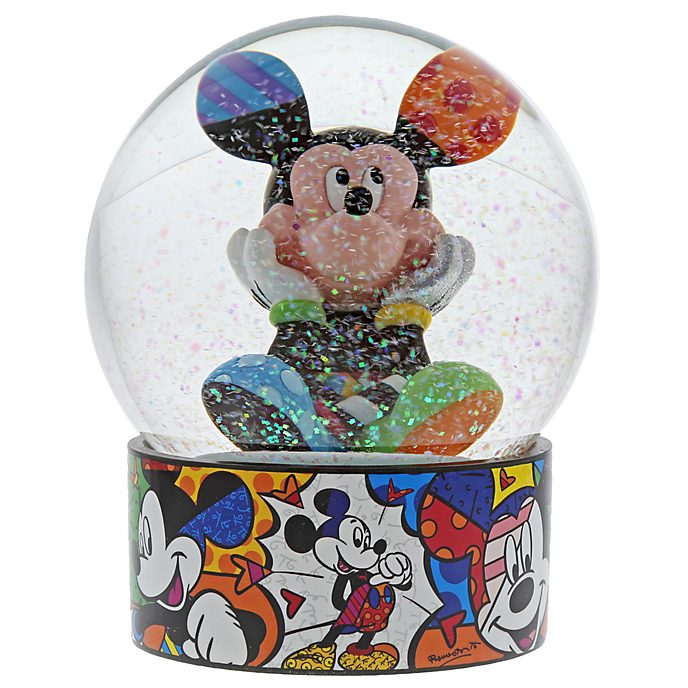 Enesco Mickey Mouse Britto Snow Globe