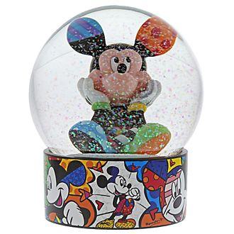 Enesco Mickey Mouse Britto Snow Globe
