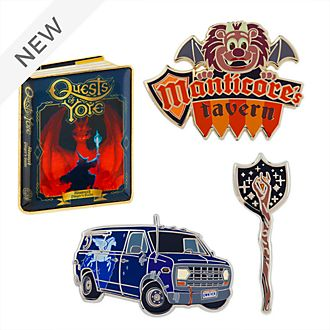 Disney Store Onward Limited Edition Pin Set