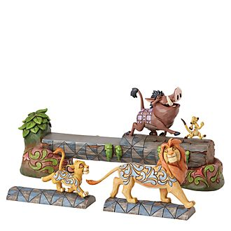 Figurita El Rey León, Carefree Camaraderie, Disney Traditions, Enesco