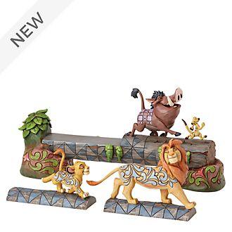 Enesco The Lion King Carefree Camaraderie Disney Traditions Figurine