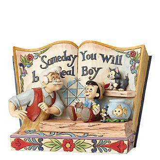 Enesco Pinocchio Storybook Disney Traditions Figurine