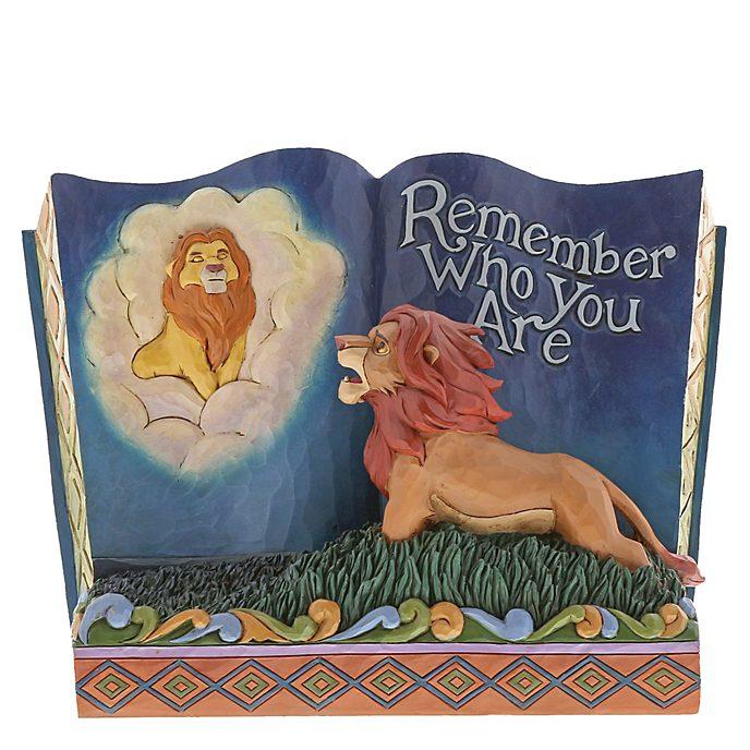 Statuetta libro di fiabe Remember Who You Are Disney Traditions Il Re Leone Enesco