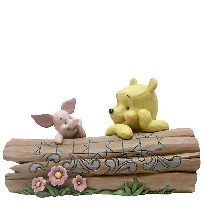 Enesco Winnie the Pooh Truncated Conversation Britto Figurine
