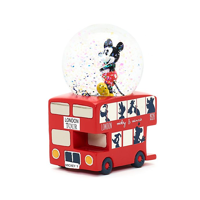 Disney Store - Micky Maus - London - Schneekugel